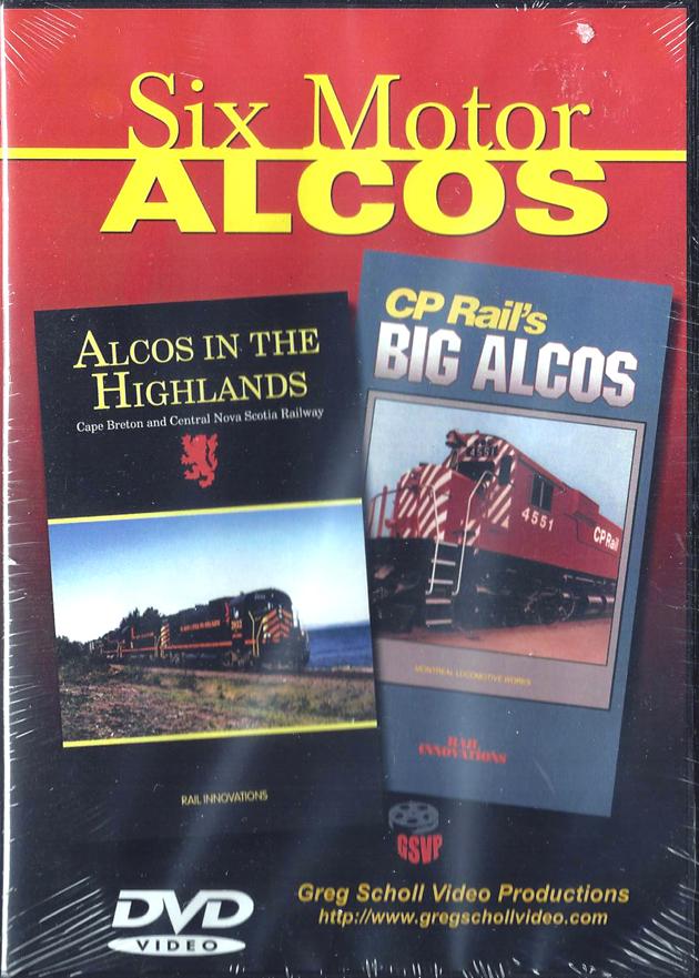 Six Motor ALCOs