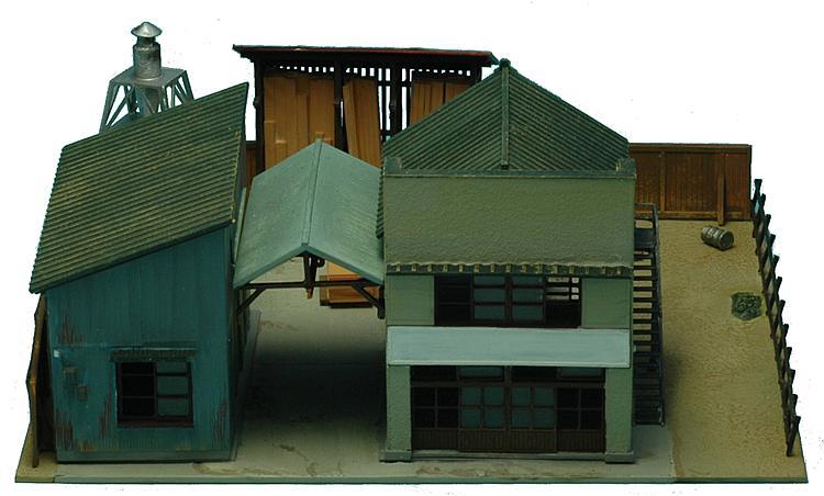 Holzverarbeitungsfabrik (Bausatz)