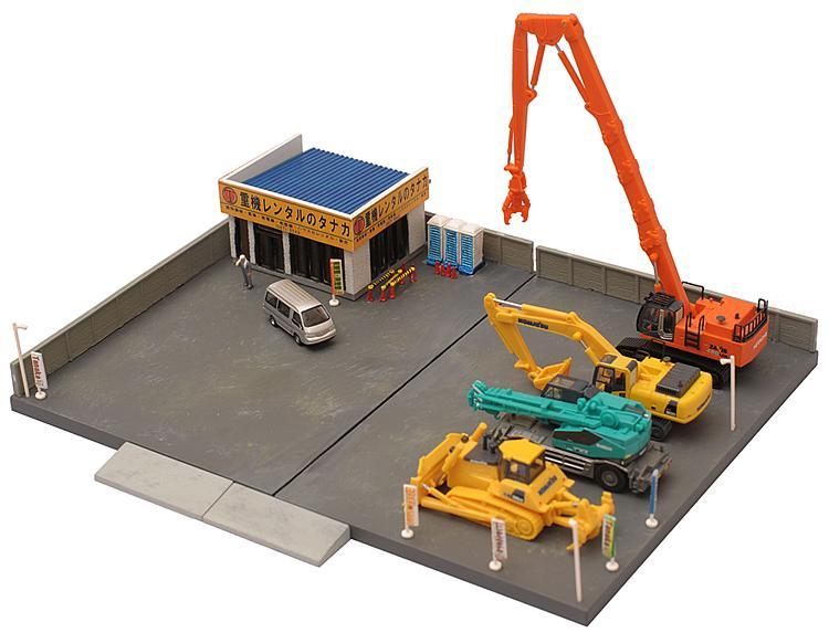 Baumaschinenverleih (Bausatz)