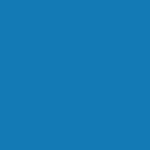 Blau, fluoreszierend