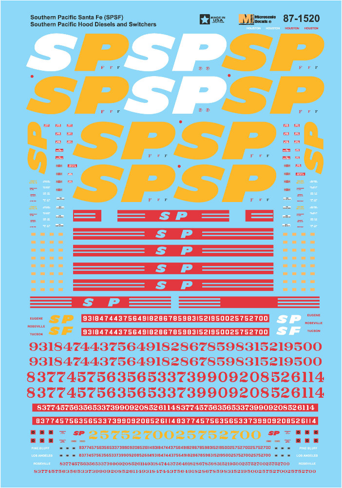 Southern Pacific (SPSF Merger)