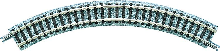 4 Gebogene Gleise, r 140mm