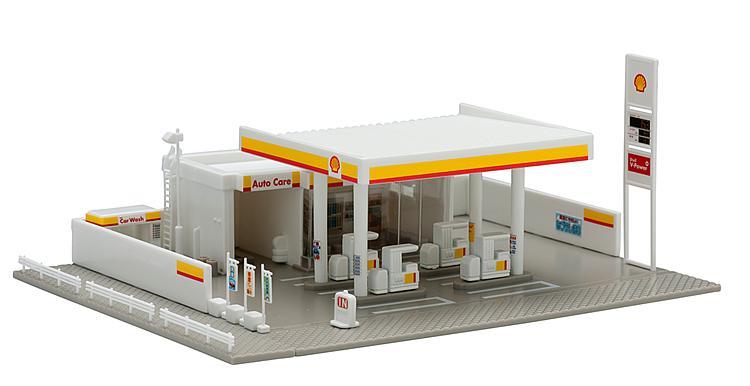 Shell-Tankstelle (Bausatz)