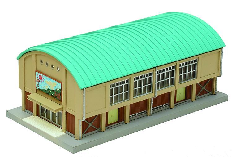 Schul-Sporthalle (Bausatz)