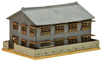 Zweistöckiges Fabrikgebäude (Fertigmodell)