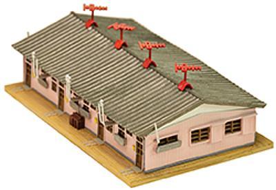Einstöckiges Fabrikgebäude (Fertigmodell)