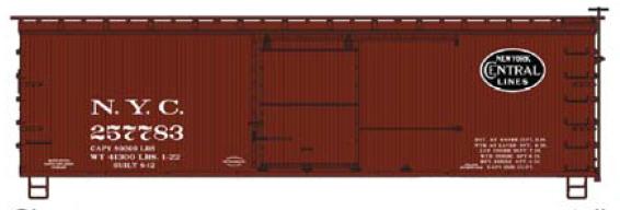 36' Wood Boxcar H0