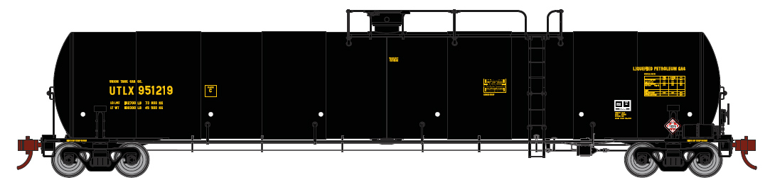 Union Tank Car (late) / UTLX