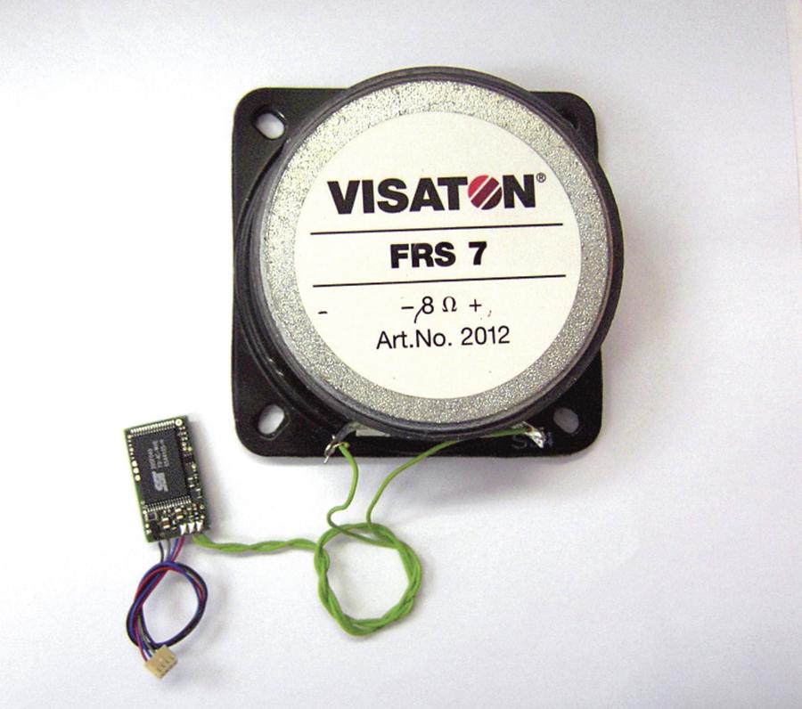 Digital-Sounddecoder für BR 118