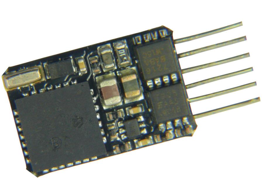 DCC Decoder NEM 651 direkt