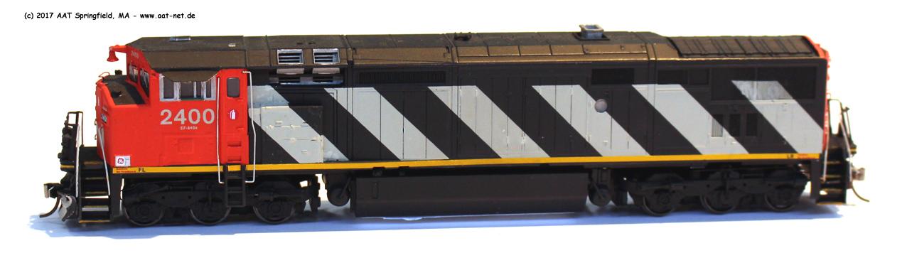 GE Dash 8-40CM H0