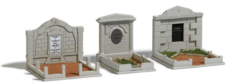 Familiengräber (3 Stück)