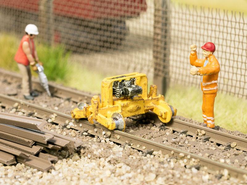 Schienen-Hebegerät