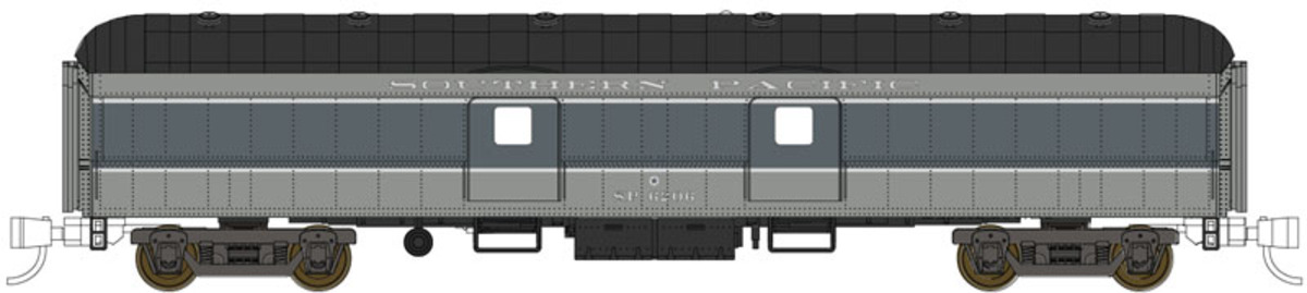 Southern Pacific (ply-metal doors)