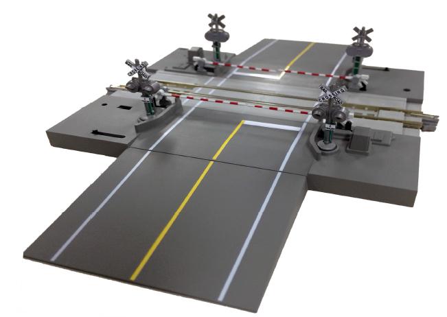 Electric Railroad Crossing - US-Road Version