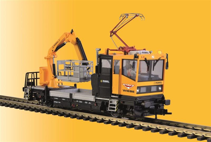 Robel Gleiskraftwagen 54.22 mit Prüfpantograph