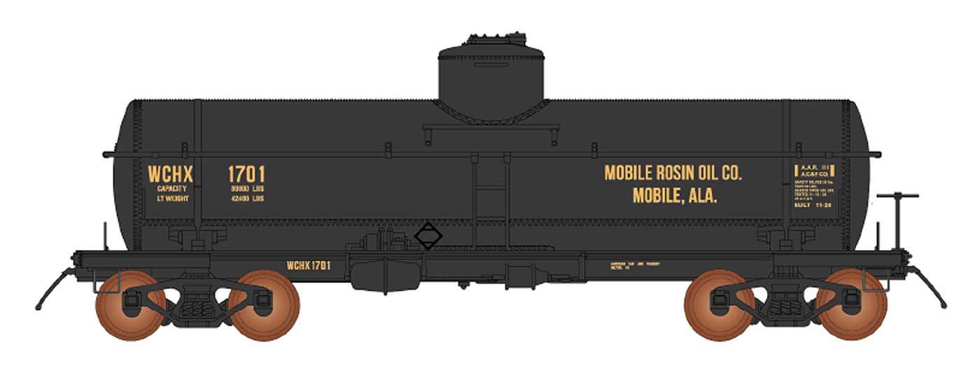 WCHX / Mobile Rosin Oil Co.