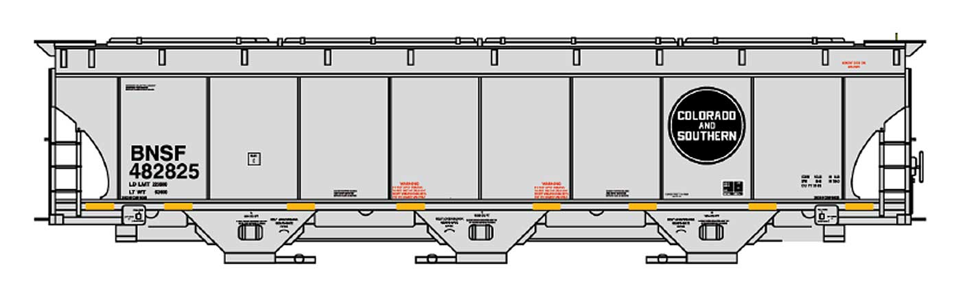 BNSF (Legacy Hopper C&S)
