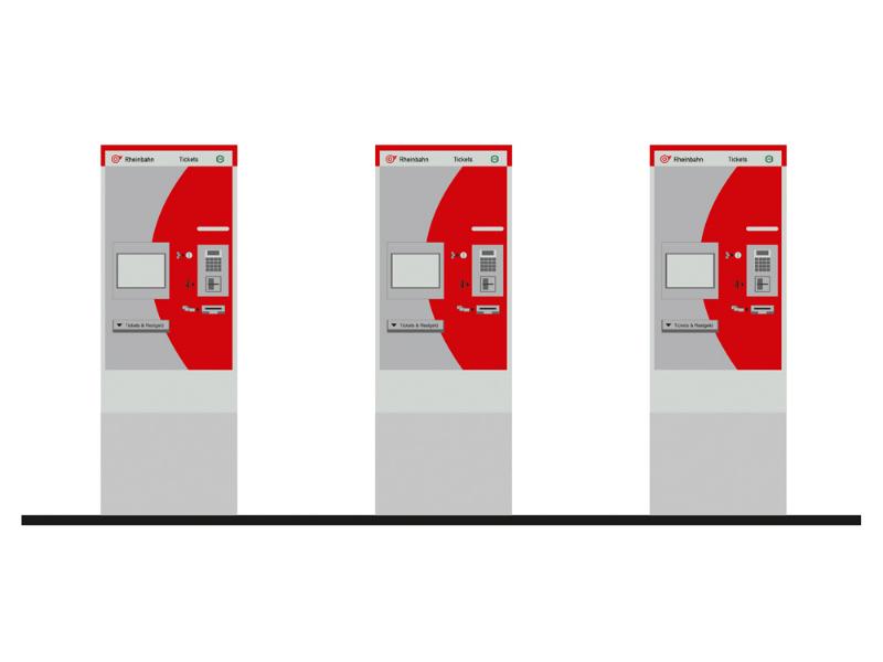 Fahrkartenautomaten (3 Stück)