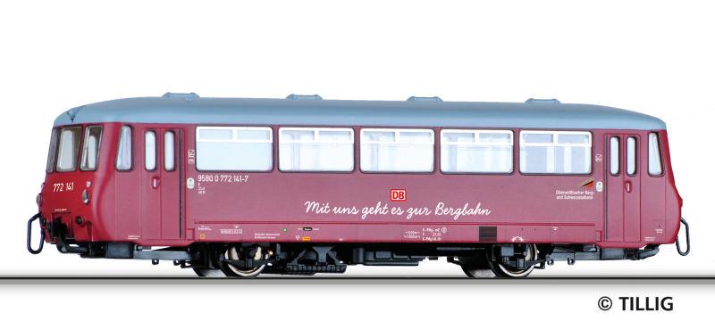 DB AG / Oberweißbacher Schwarztalbahn