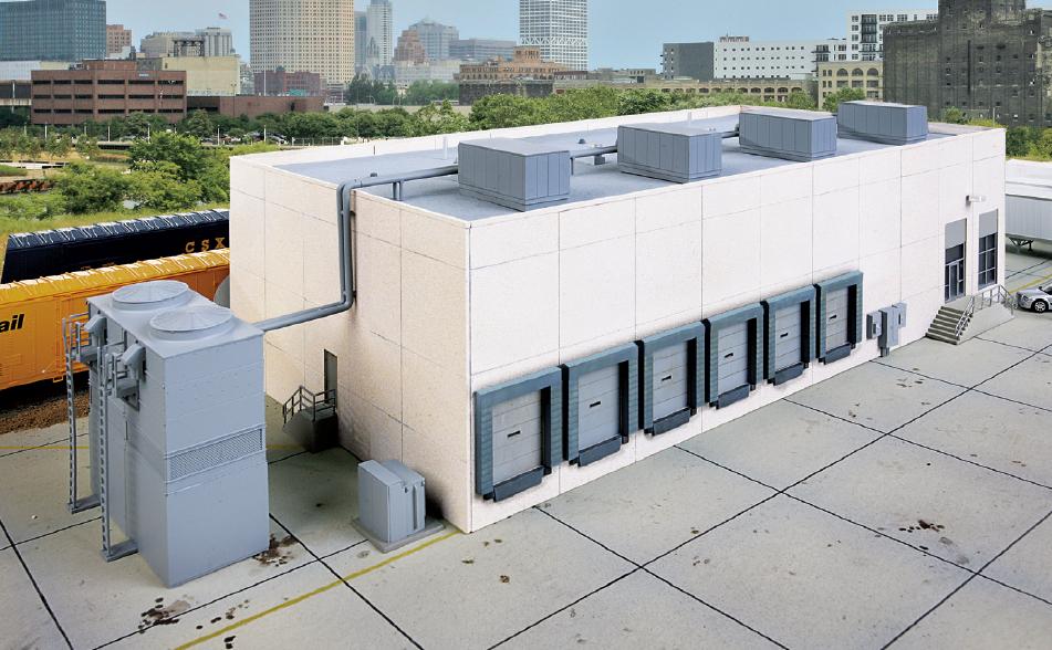 Modern Cold Storage Warehouse