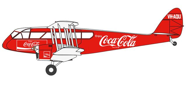 """VH-AQU """"Coca Cola"""""""