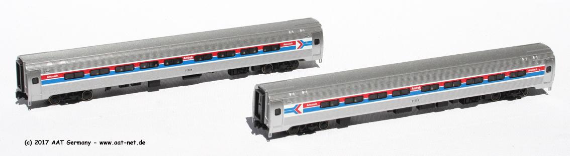 Amtrak, Phase I