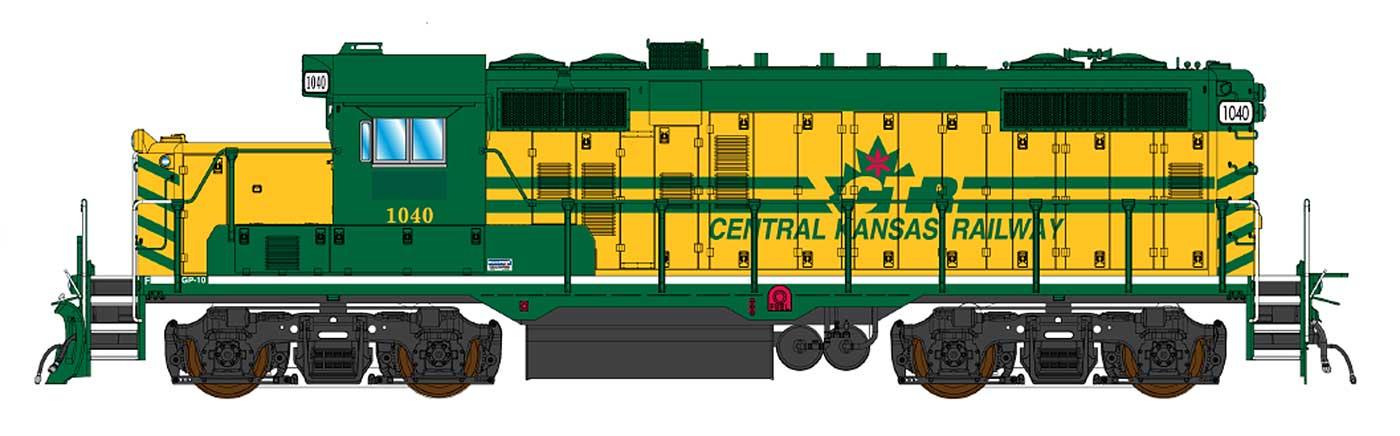 Central Kansas Railway (exCTRW)