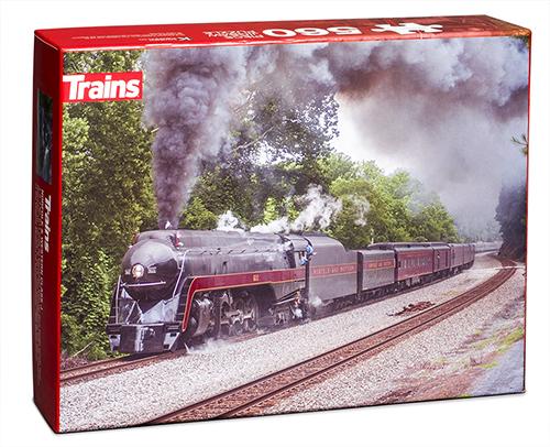 Trains N&W Class J Puzzle