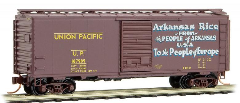 Union Pacific [Arkansas Rice]