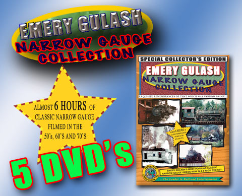 Emery Gulash Narrow Gauge Collection