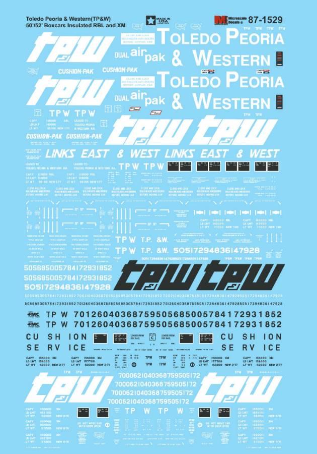 Toledo Peoria & Western