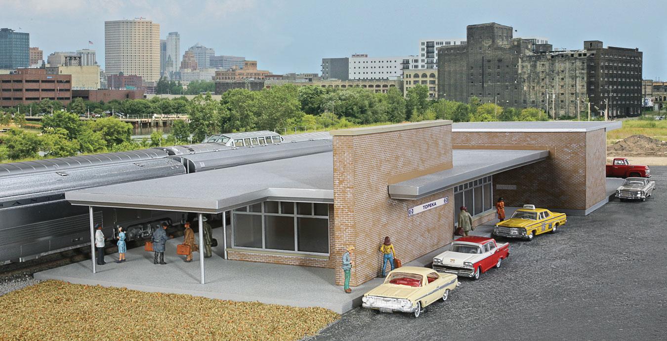 Modern Brick Santa Fe Station