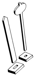 Whistle Post & Yard Limit Marker
