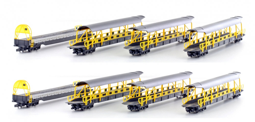 Autoverladewagen-Set (8) - BLS