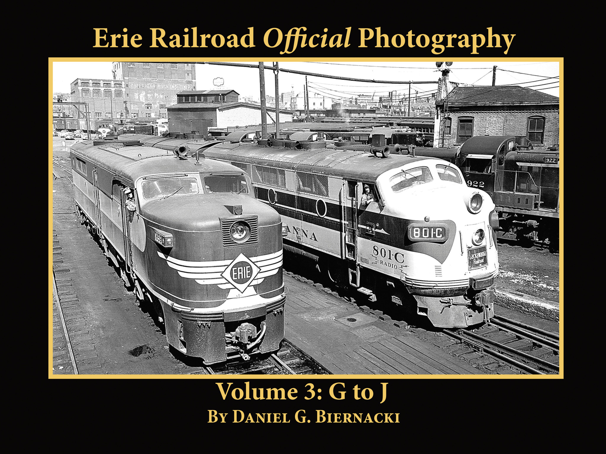 Erie Railroad Official Photography, Vol. 3