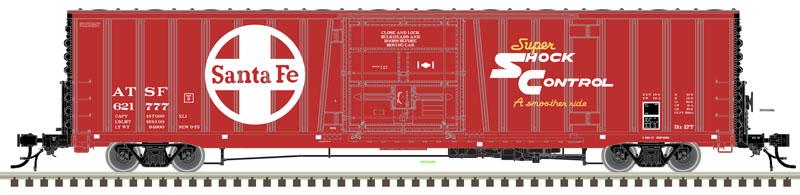 60' BX-177 Boxcar H0