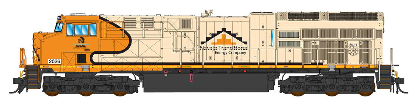 Navajo Mine Railroad