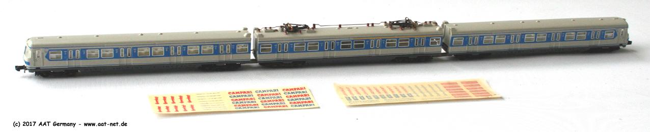 DB, Ep. IV, München 1972, weiss/blau