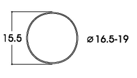 Haftreifensatz Gleichstrom (10 Stck.)