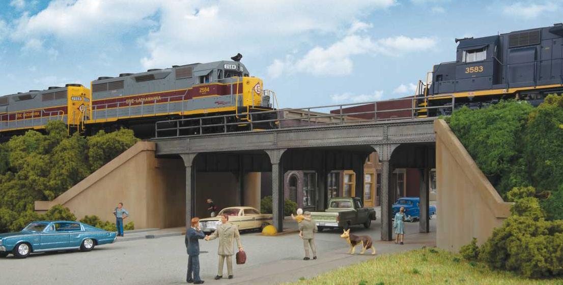 Urban Steel Overpass