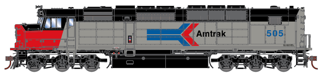 Amtrak, Ph. I