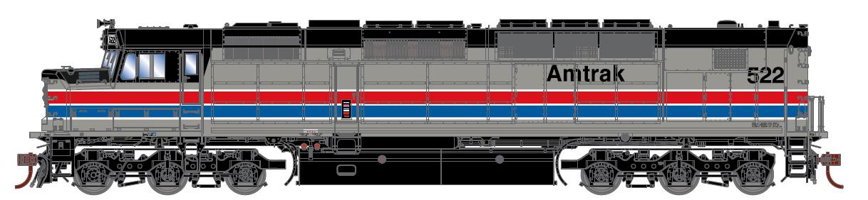 Amtrak, Ph. II