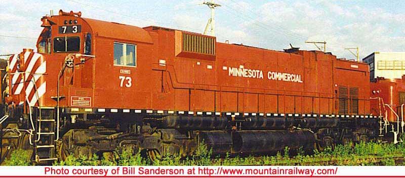 Minnesota Commercial (ex CP rail)