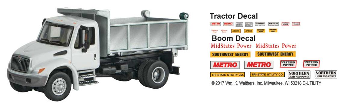 Intl. 4300 2-axle Dump Truck