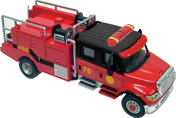 Intl. 7000 2-axle Crew Cab Brush Truck