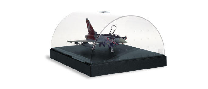 Airplane Hangar Display Case