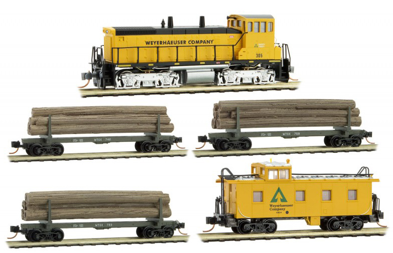 Weyerhaeuser Logging Set
