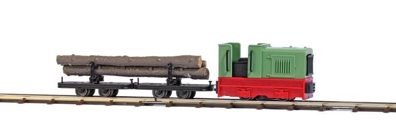 Feldbahn-Startset mit Diesellok