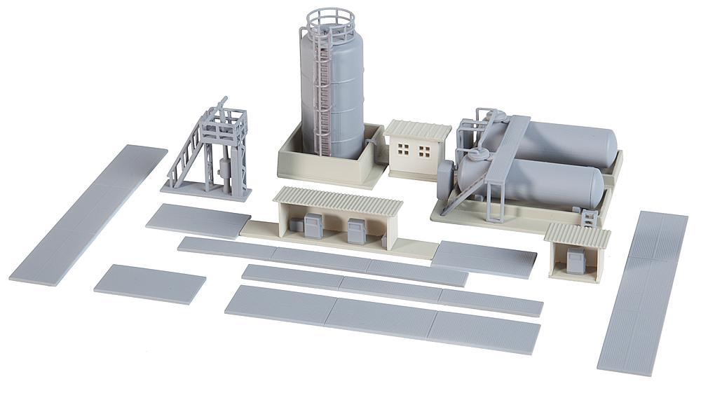 Öllager mit Dieseltankstelle